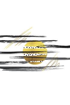 Ilustración Deco Lines No. 3 – Full Moon