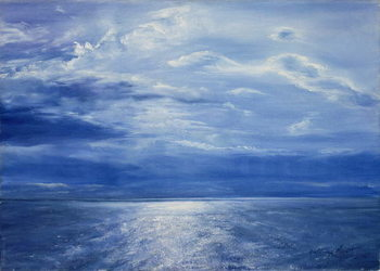 Deep Blue Sea, 2001 Kunsttryk