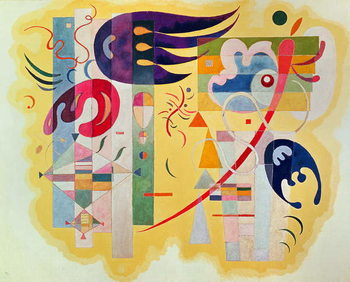 Dominant Violet, 1934 Reproduction d'art