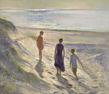 Konsttryck Down to the Sea, 1994