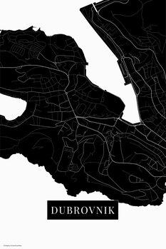 Χάρτης Dubrovnik black