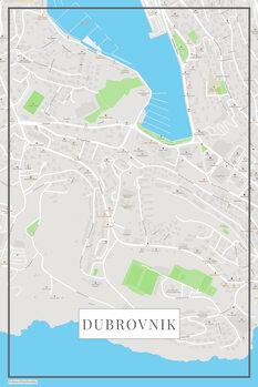 Χάρτης Dubrovnik color