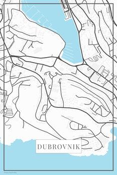 Χάρτης Dubrovnik white
