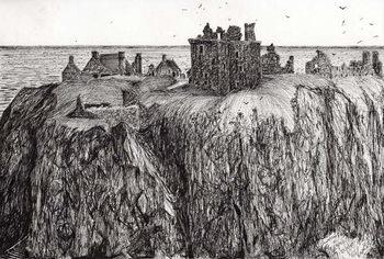 Umelecká tlač Dunottar Castle, 2007,