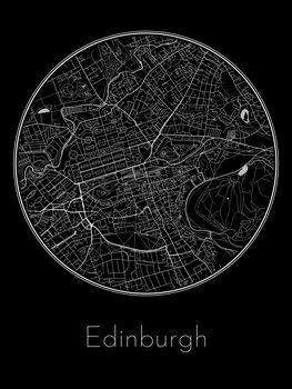 Mapa Edinburgh