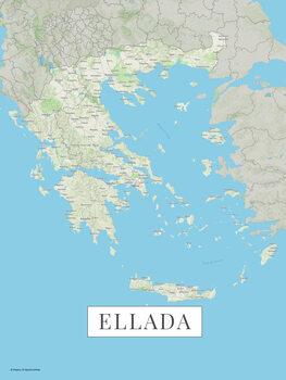 Mappa Ellada color