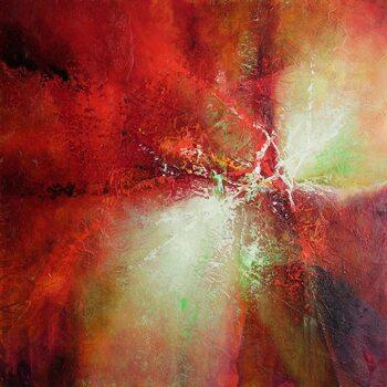 Illustrazione energy in red