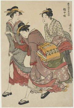 "Obrazová reprodukce ""Entertainers of Tachibana-cho"", 1782"