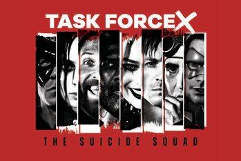 Lámina Escuadrón suicida 2 - Task force X