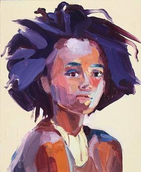 'Eye Am', 2017, (oil on canvas0 Kunstdruk
