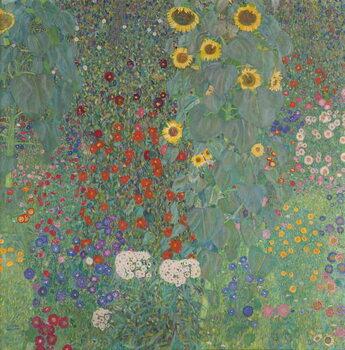 Reproducción de arte Farm Garden with Sunflowers, 1905-06
