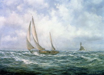 Fastnet Abeam Reproduction de Tableau