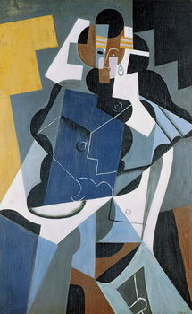 Konsttryck Figure of a Woman, 1917