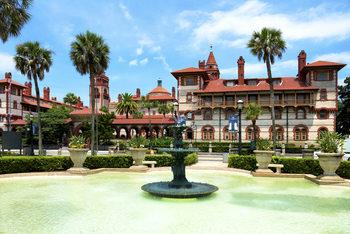 Umělecká fotografie  Flager College - St Augustine - Florida