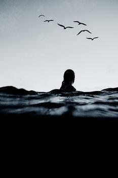 Ilustrace Floating
