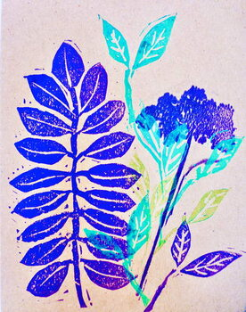 Artă imprimată Flora  2020