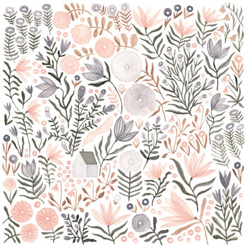 Ilustracja Flower Field 05