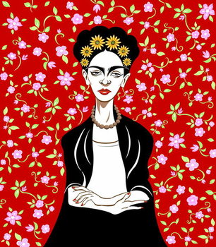 Frida Kahlo, 2018 Reproduction de Tableau