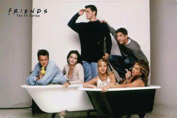 Művészi plakát Friends - Bath