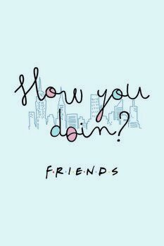Póster Friends - How you doin?