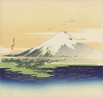 Artă imprimată Fuji from the beach at Mio