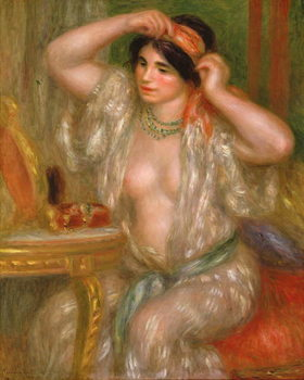 Obrazová reprodukce  Gabrielle at the Mirror, 1910