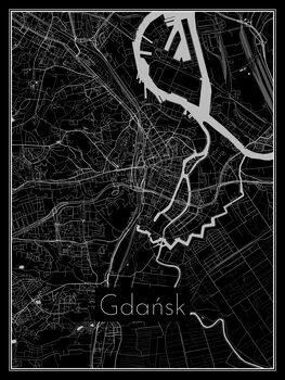 Mapa Gdańsk