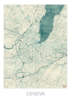 Zemljevid Geneva