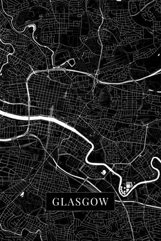 Harta Glasgow black