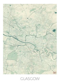 Karta Glasgow