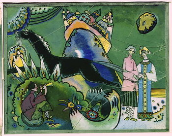 Golden Cloud, 1918 Kunstdruck