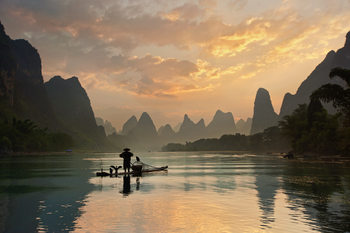 Photographie d'art Golden Li River