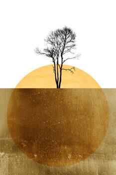 Illustration Golden Ocean
