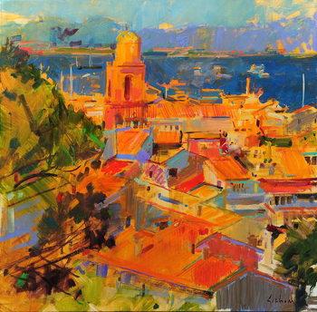 Golfe de Saint-Tropez Kunsttryk