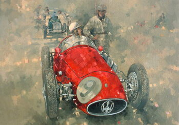 Kunstdruck Goodwood 54 Roy Salvadori