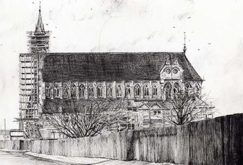 Gorton Monastery, 2006, Kunstdruk