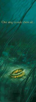 Umjetnički plakat Gospodar Prstenova - Jedan prsten da vlada svima njima