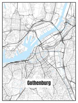 Mapa de Gothenburg