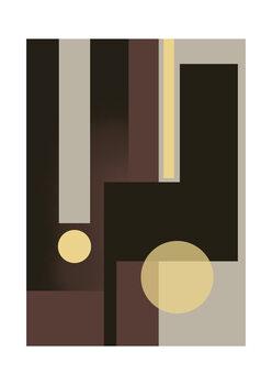 Ilustrácia Grey Brown & Yellow