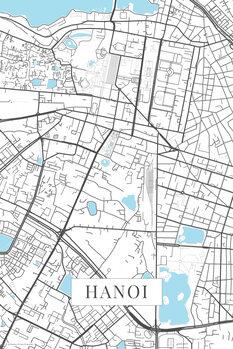Mapa Hanoi white