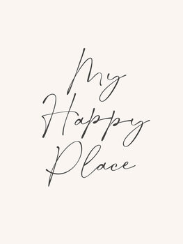 Illustration Happy place