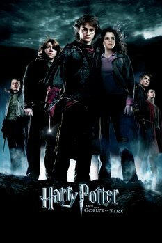 Poster Harry Potter - Den flammande bägaren