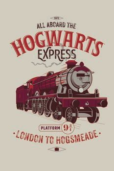 Poster Harry Potter - Espresso per Hogwarts