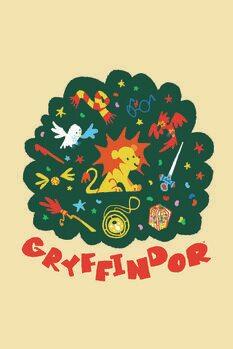 Poster Harry Potter - Gryffondor