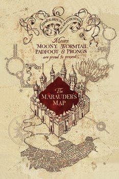 Εκτύπωση τέχνης Harry Potter - Marauder's Map