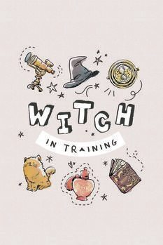Плакат Harry Potter - Witch in training
