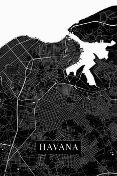 Mapa Havana black