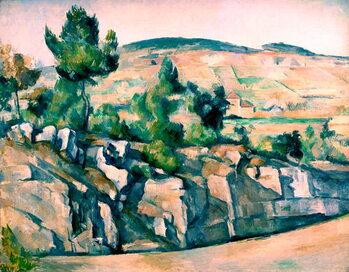 Reprodukcija umjetnosti Hillside in Provence by Paul Cézanne