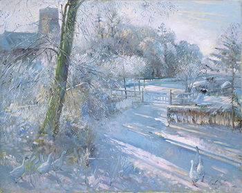 Kunsttryk Hoar Frost Morning, 1996