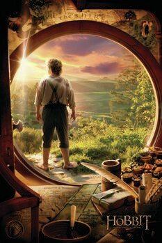 Kunstplakat Hobbiten - En uventet reise